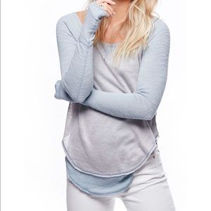 We the free by Free people Long Sleeves knit  Tee